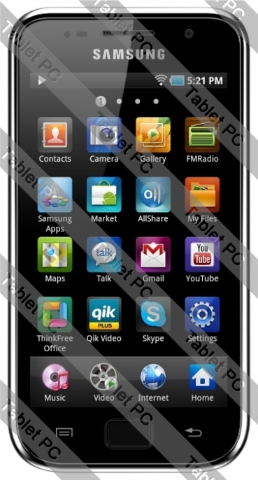 Samsung (самсунг) Galaxy S Wi-Fi 4.0 (G1) 16Gb