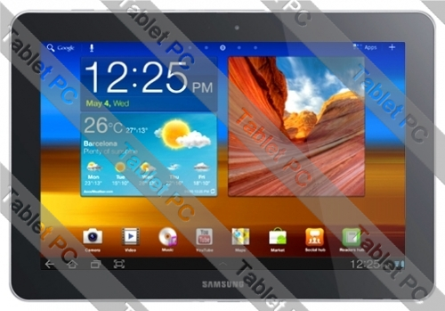 Samsung (самсунг) Galaxy Tab 10.1 P7510 64Gb